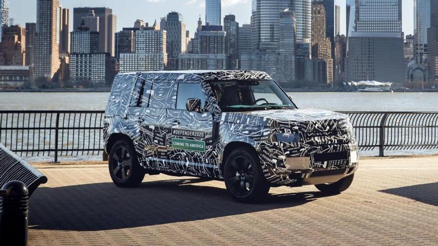 Primeras imágenes del nuevo Land Rover Defender 2020