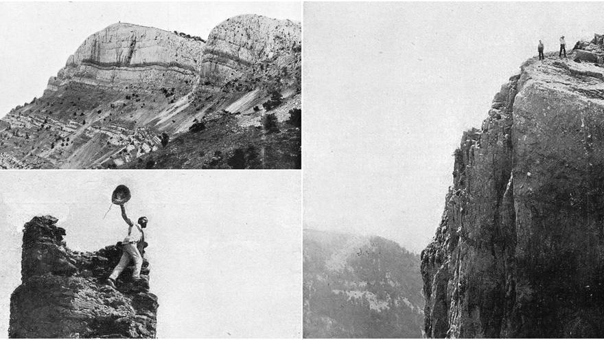La imagen de Penyagolosa 115 años atrás
