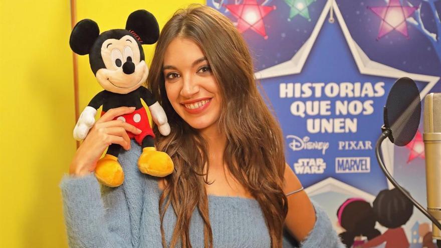 Ana Guerra 'ficha' por la campaña navideña de Disney