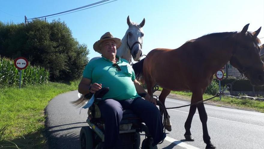 """""""Estos caballos no van a misa pero saben comportarse"""""""