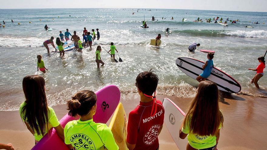 Jugando con las otras olas