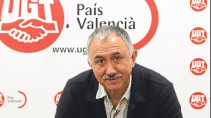 Josep Maria Álvarez: «Hay que romper el mito de que los sindicatos viven de las subvenciones»