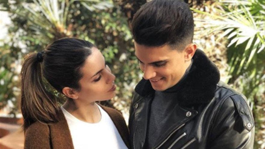 Melissa Jiménez y Marc Bartra, padres por segunda vez