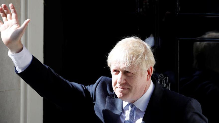 Boris Johnson s'estrena com a 'premier' britànic prometent un Brexit efectiu el 31 d'octubre