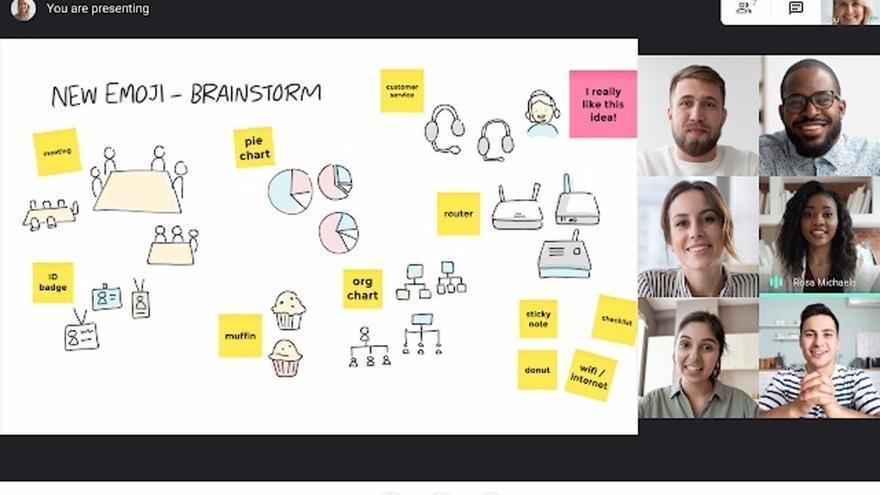 Google integra Meet con Jamboard para facilitar el trabajo y las clases en remoto