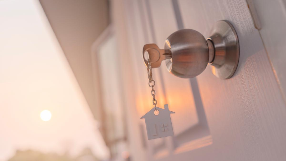 Una llaves de una casa.