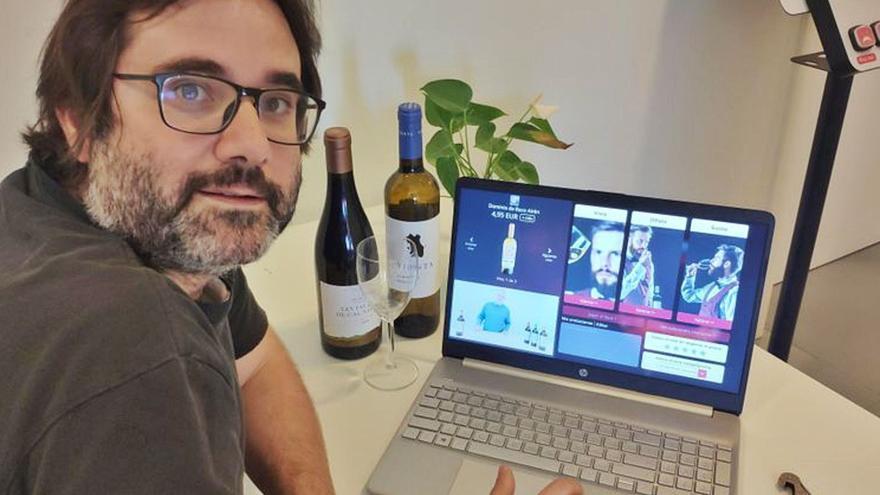 Albert Grau, CEO d'Upwine: «Hi havia una necessitat de digitalitzar el món del vi»