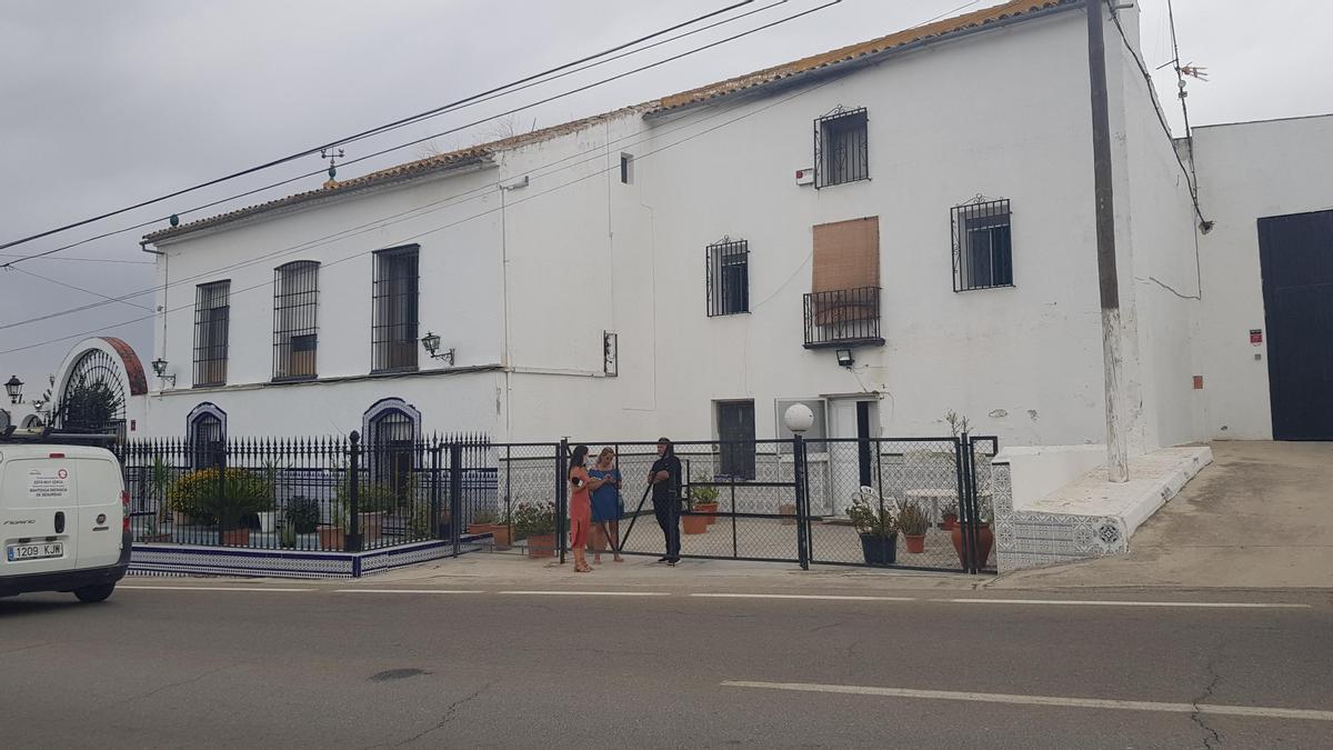 Casa de Lucena donde el menor fue atacado por el perro.