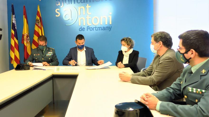 La Policía Local de Sant Antoni se suma al sistema de protección de víctimas de violencia de género