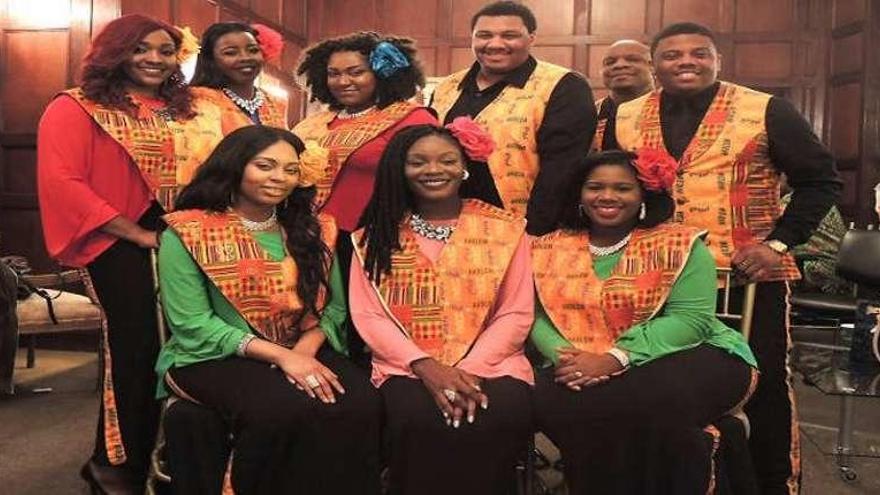 Apoteosis de espiritual negro en el Jovellanos
