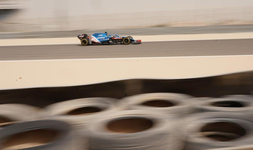 Las imágenes del regreso de Alonso a la Fórmula 1