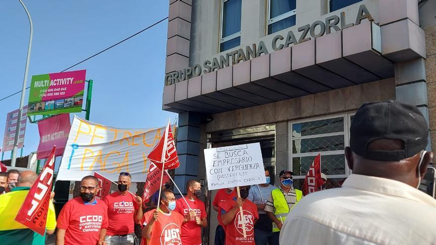 Comienza la huelga completa de los trabajadores de Petrecan