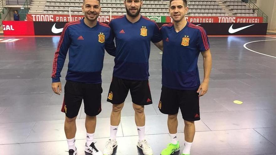 Tres cordobeses, con la selección de fútbol sala en Portugal