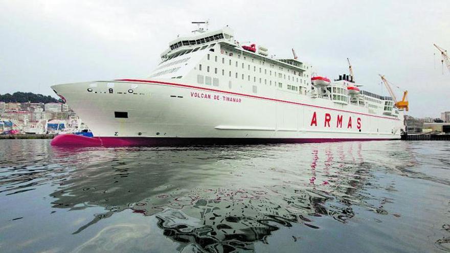 Naviera Armas recupera la línea marítima entre Canarias y Huelva