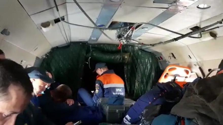 Mueren 28 personas en un accidente de avión en Rusia