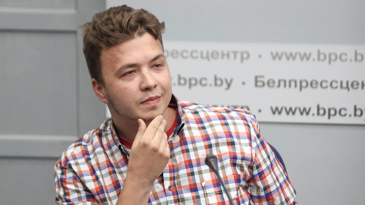 Román Protasévich.