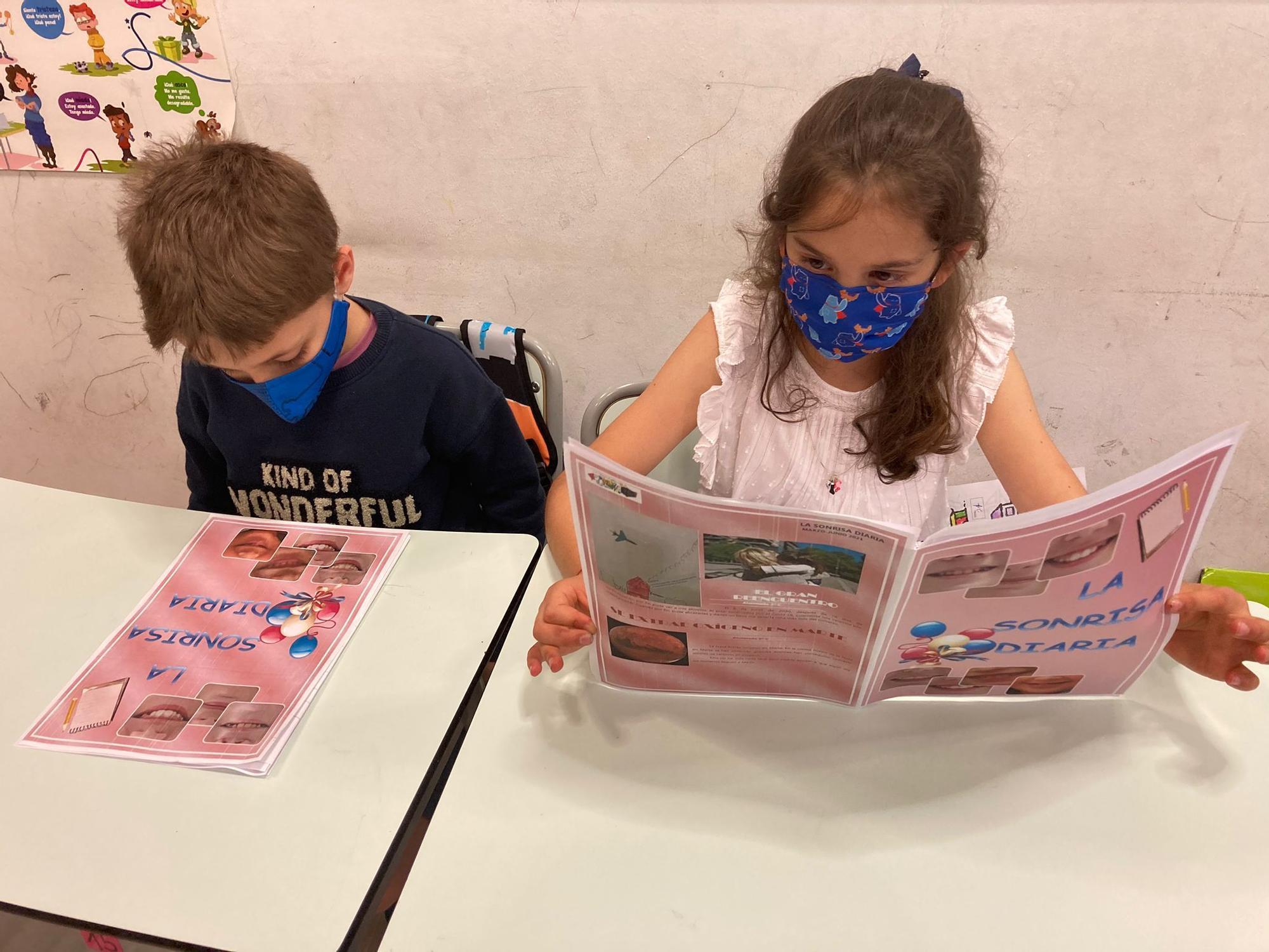 El colegio Jovellanos estrena publicación
