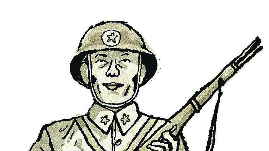 El brigadista chino