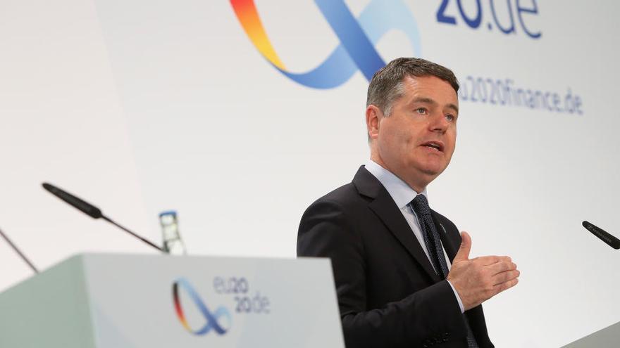 L'Eurogrup descarta retirar a curt termini les mesures contra la crisi per la covid-19