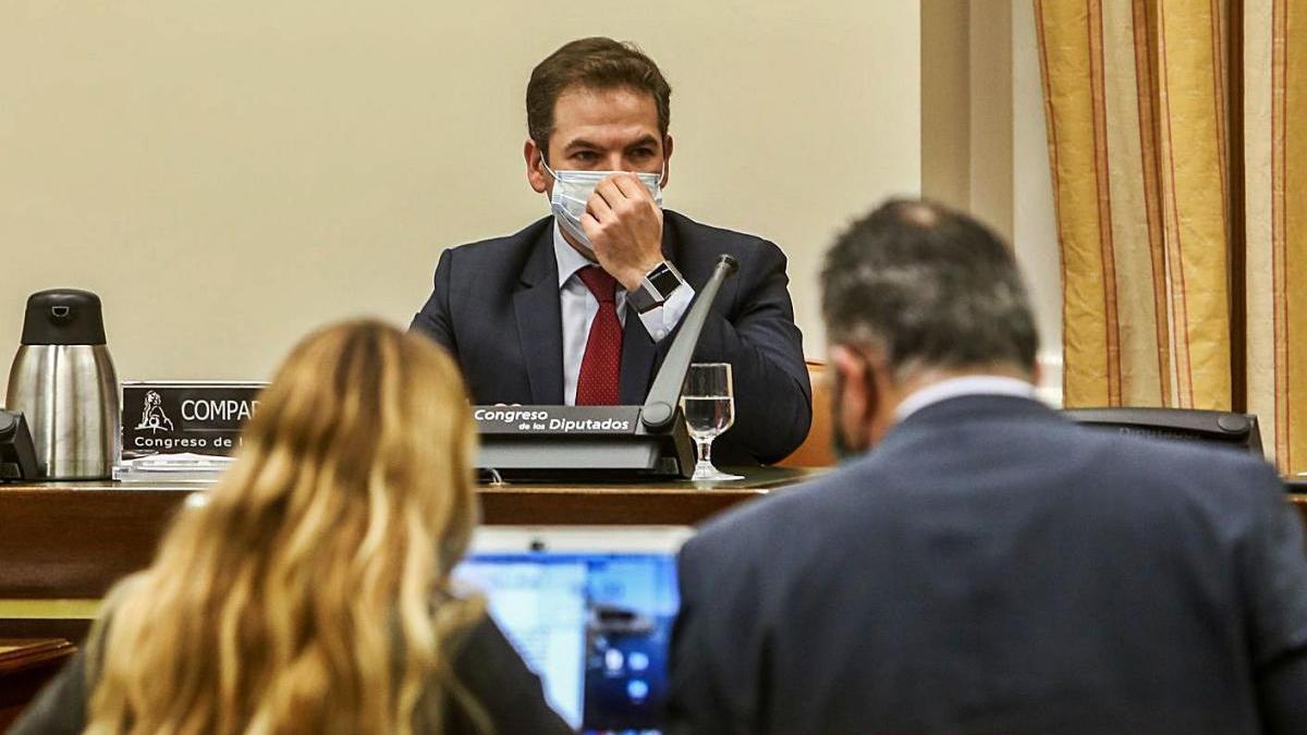 José Miguel Bueno en una compareixença anterior a la Comissió de Justicia del Congrés dels Diputats