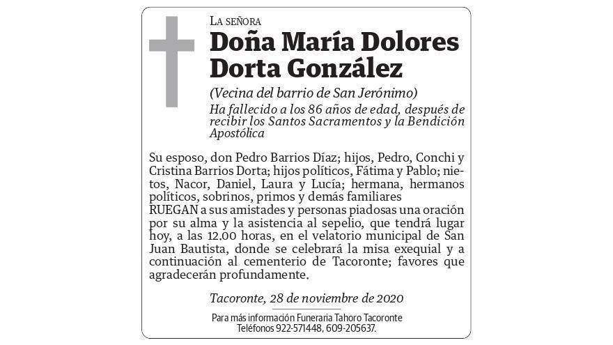 María Dolores Dorta González