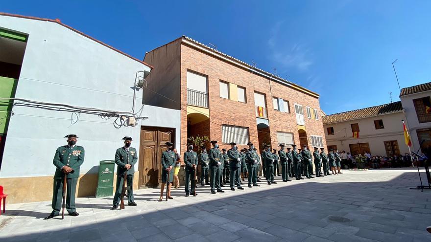 Día de la Guardia Civil en Llocnou de la Corona.