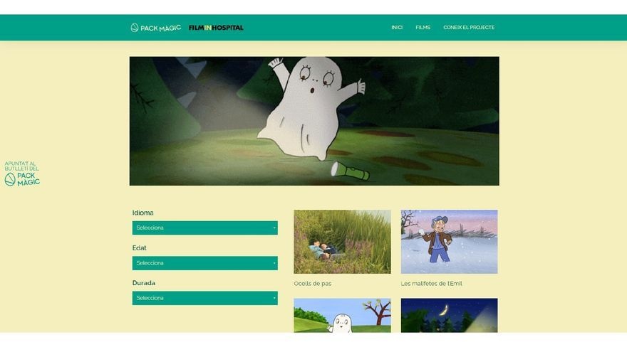 L'Hospital de Figueres estrena el projecte Film in Hospital per als infants ingressats