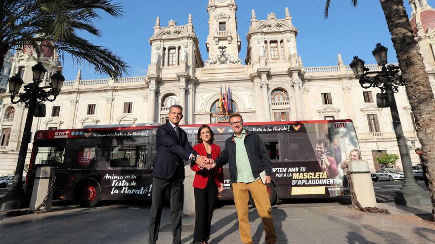 Autobuses gratis para todos el día del Maratón de València