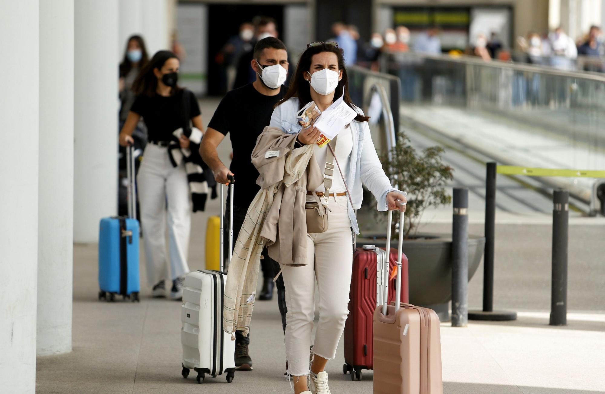 Aterrizan 102 aviones en el aeropuerto de Palma, 54 de ellos procedentes de Alemania