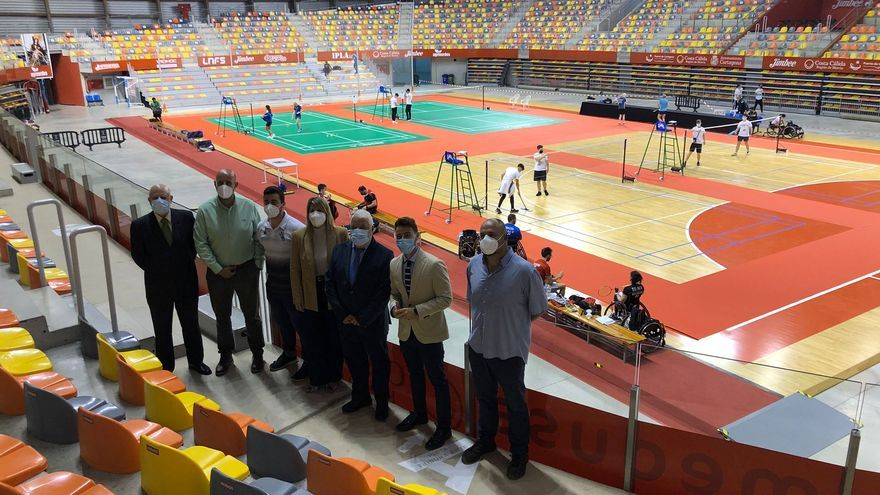 Cartagena acoge la última prueba de parabádminton antes de los Juegos Paralímpicos de Tokio