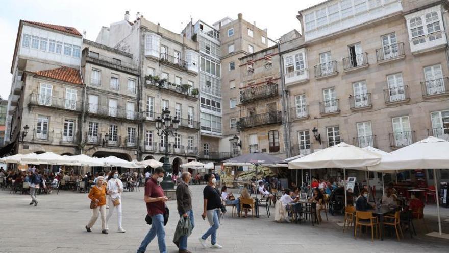 La hostelería en Galicia ya factura más que en el verano de 2019