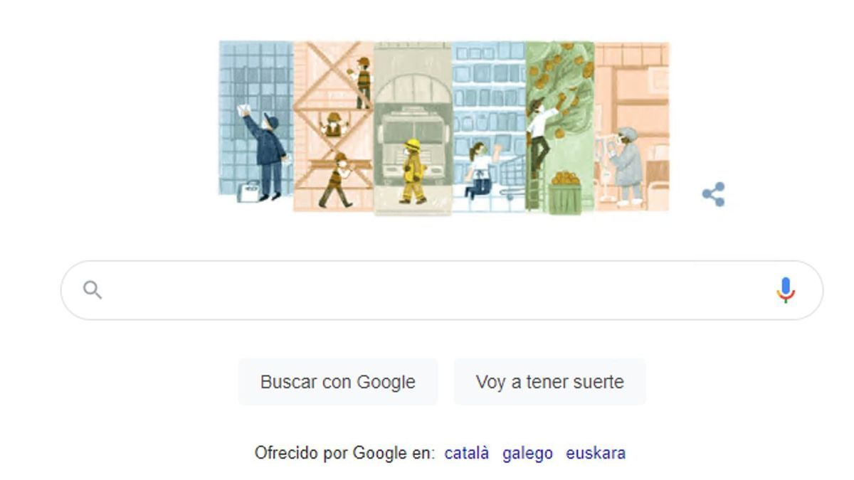 Google pays tribute to Labor Day.