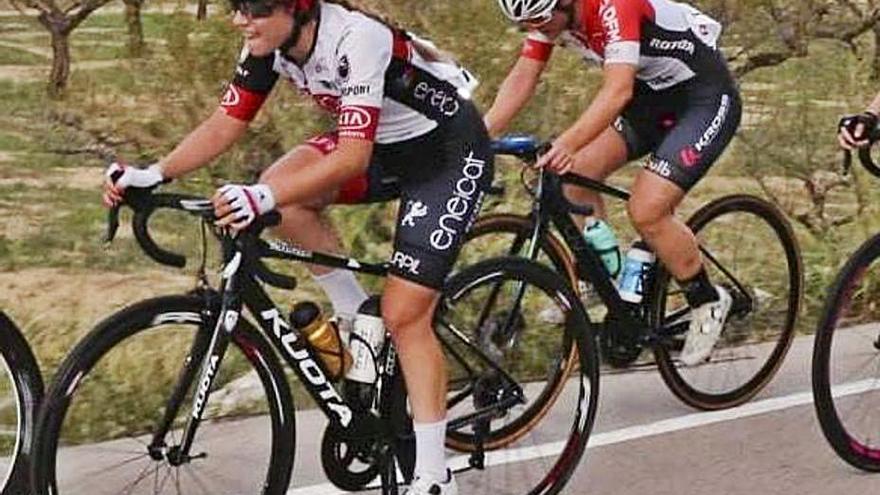 La ciclista de Bèlgida Paula Soler ficha por el Sopela Womens Team