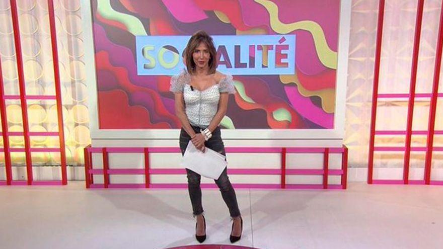 Socialité cambia de presentadora: María Patiño ya no está frente a las cámaras