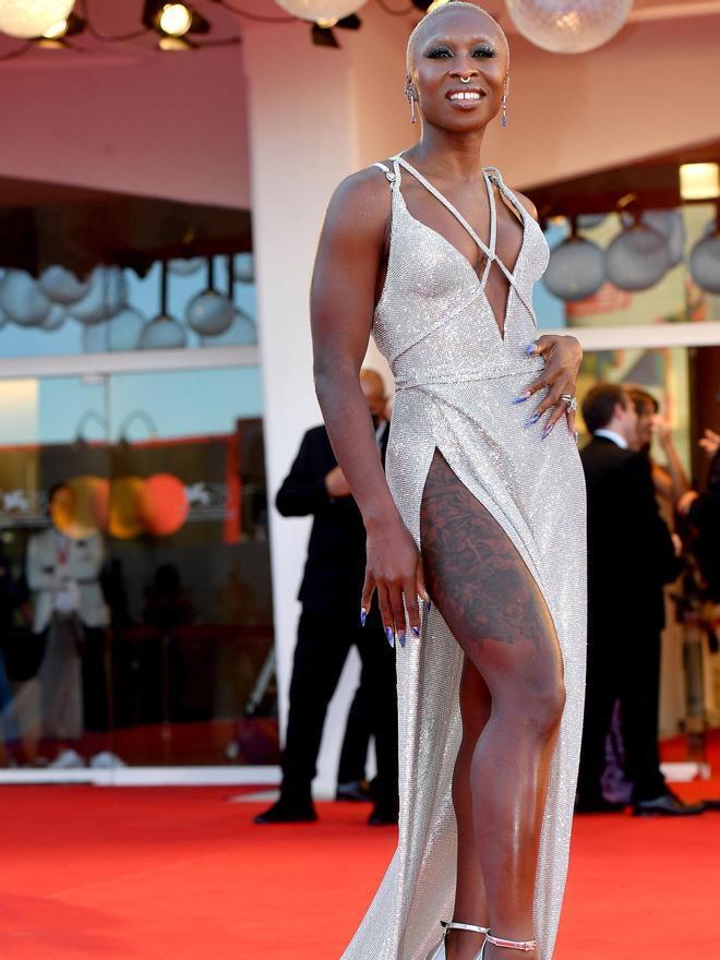 La actriz británica Cynthia Erivo.