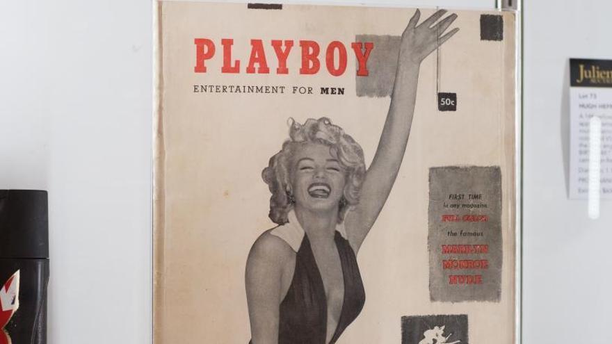 Venden por más de 30.000 dólares una copia de Hefner de la primera Playboy