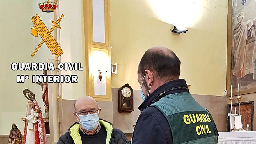 Detenidos dos hombres por sendos robos en las iglesias de Trubia y San Claudio