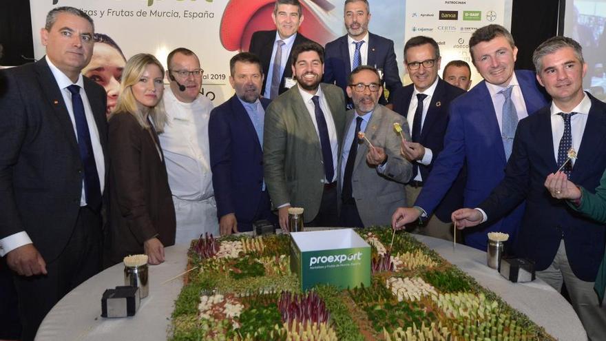 Las exportaciones de frutas y hortalizas crecen un 43% en la Región de Murcia en diez años