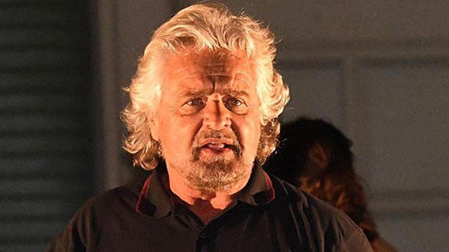 Beppe Grillo vuelve a liderar el Movimiento 5 Estrellas