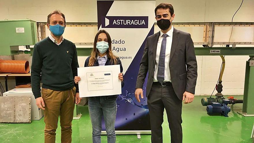 Premio a María Quintana por su expediente en el campus