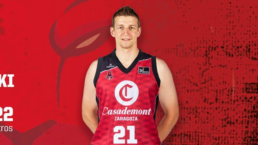 Adam Waczynski, nuevo jugador del Casademont Zaragoza