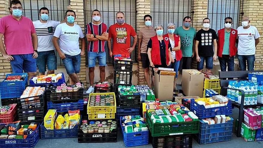 Más de 1.200 kilos de alimentos en Bocairent