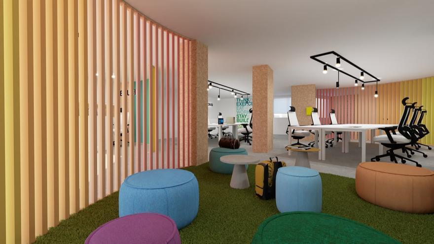 El nuevo proyecto de Galvañ Diseña fomenta el bienestar, el desarrollo y la creatividad en el trabajo