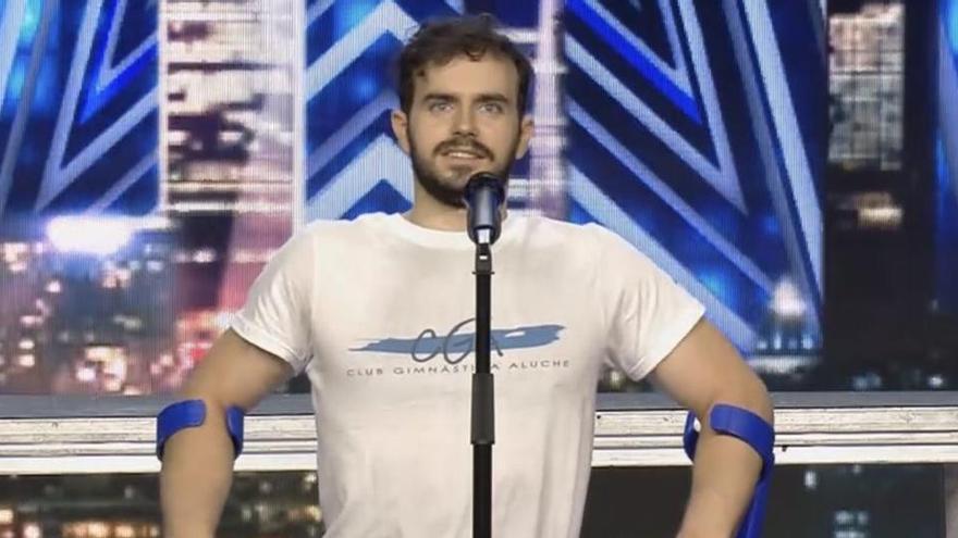 L'emotiu missatge d'un jove amb discapacitat física a 'Got Talent': «No hi ha res que no puguis aconseguir»