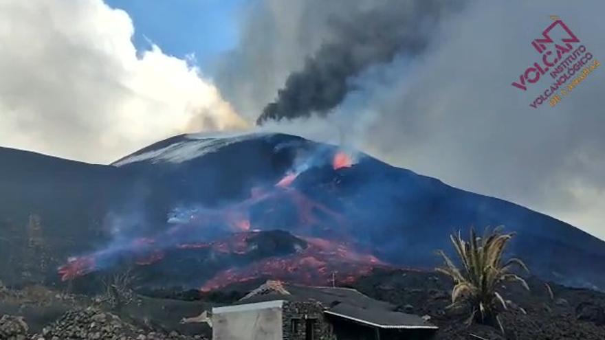 """El miedo a """"lo que no se ve"""" del volcán de La Palma"""