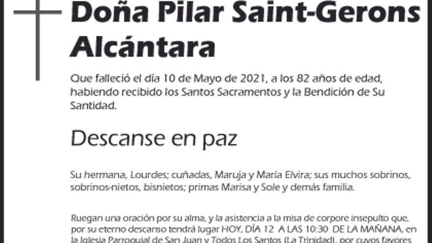 Pilar Saint-Gerons Alcántara