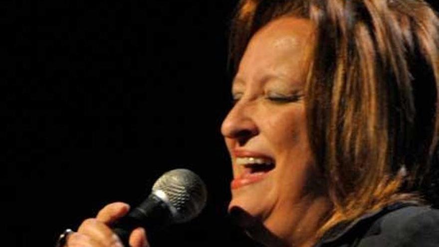 """Me sentía tan identificada con Aretha Franklin que siempre quise cantar como ella"""
