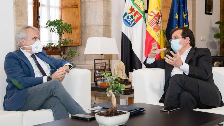 Fragoso plantea a Vara hacer el Guadiana navegable hasta Alqueva con los fondos europeos de recuperación