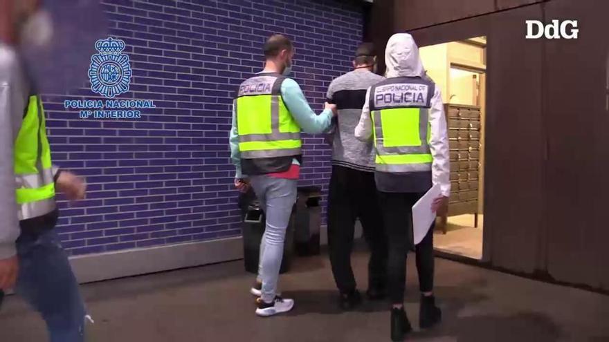 Vídeo  Detenen 99 grafiters per pintar vagons