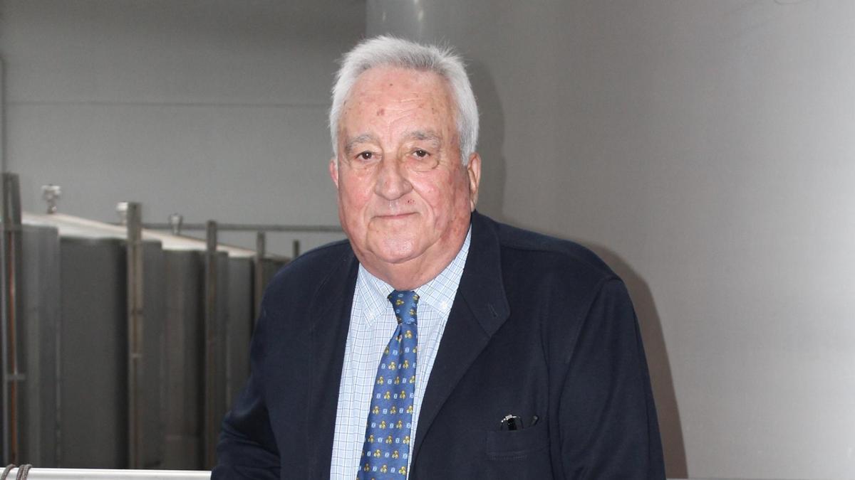 Pedro Bellón, expresidente de la Cooperativa Guadalupe y de la Caja Rural de Baena.
